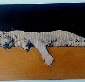 tableau mural en bois