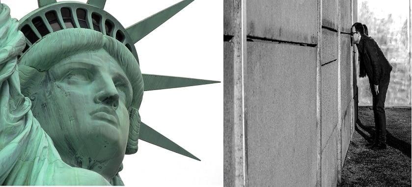 la démocratie face a la dictature, la liberté individuelle contre les libertés collectives